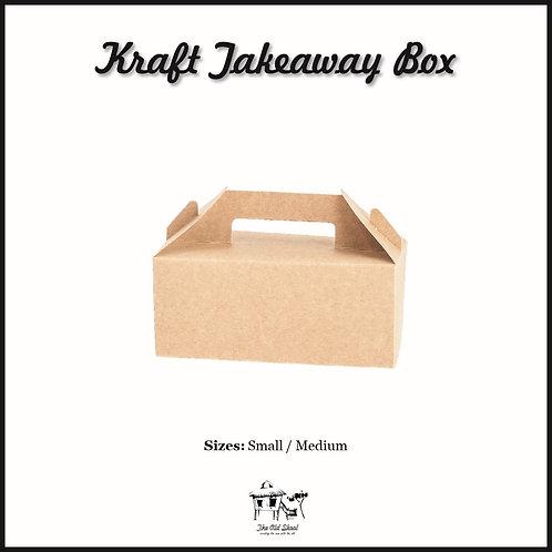 Kraft Takeaway Box | Packaging | The Old Skool SG
