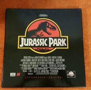 Jurassic Park Laser Disc