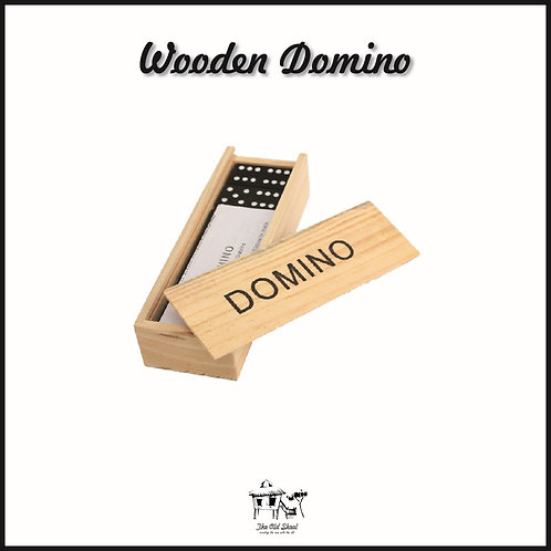 Wooden Domino | Toys | The Old Skool SG