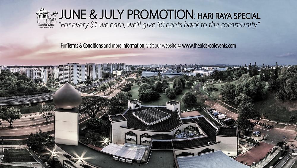 June & July Promotion