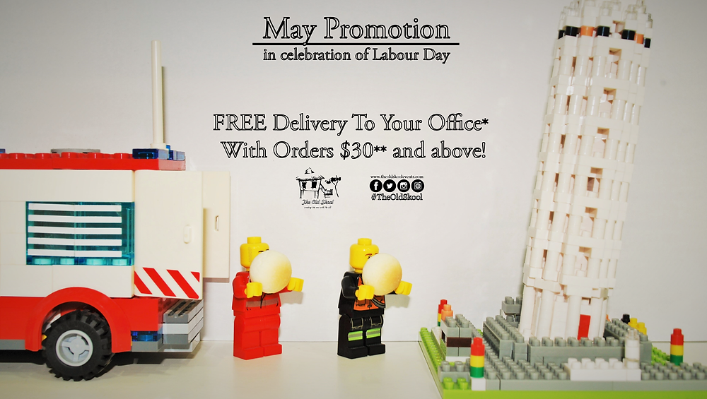 FREE Delivery to Your Office* with Orders $30** and Above!