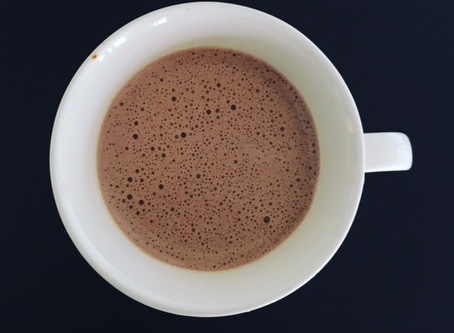 Healthy Buttered Hot Chocolate