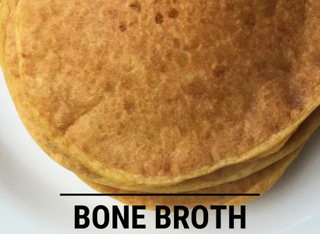Bone Broth Pumpkin Pancakes