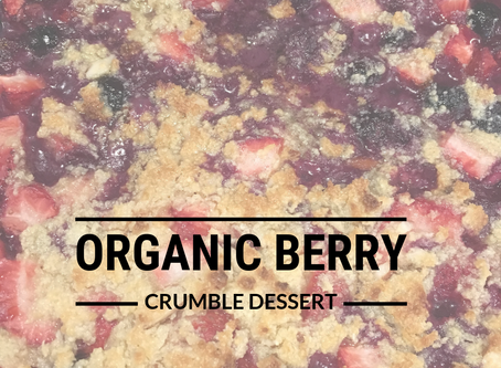 Organic Berry Crumble