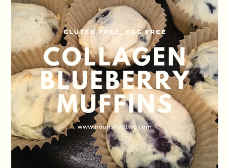 Collagen Blueberry Muffins