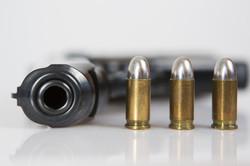 Pressebild Waffe mit Patronen
