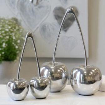 Deko-Kirsche aluminium