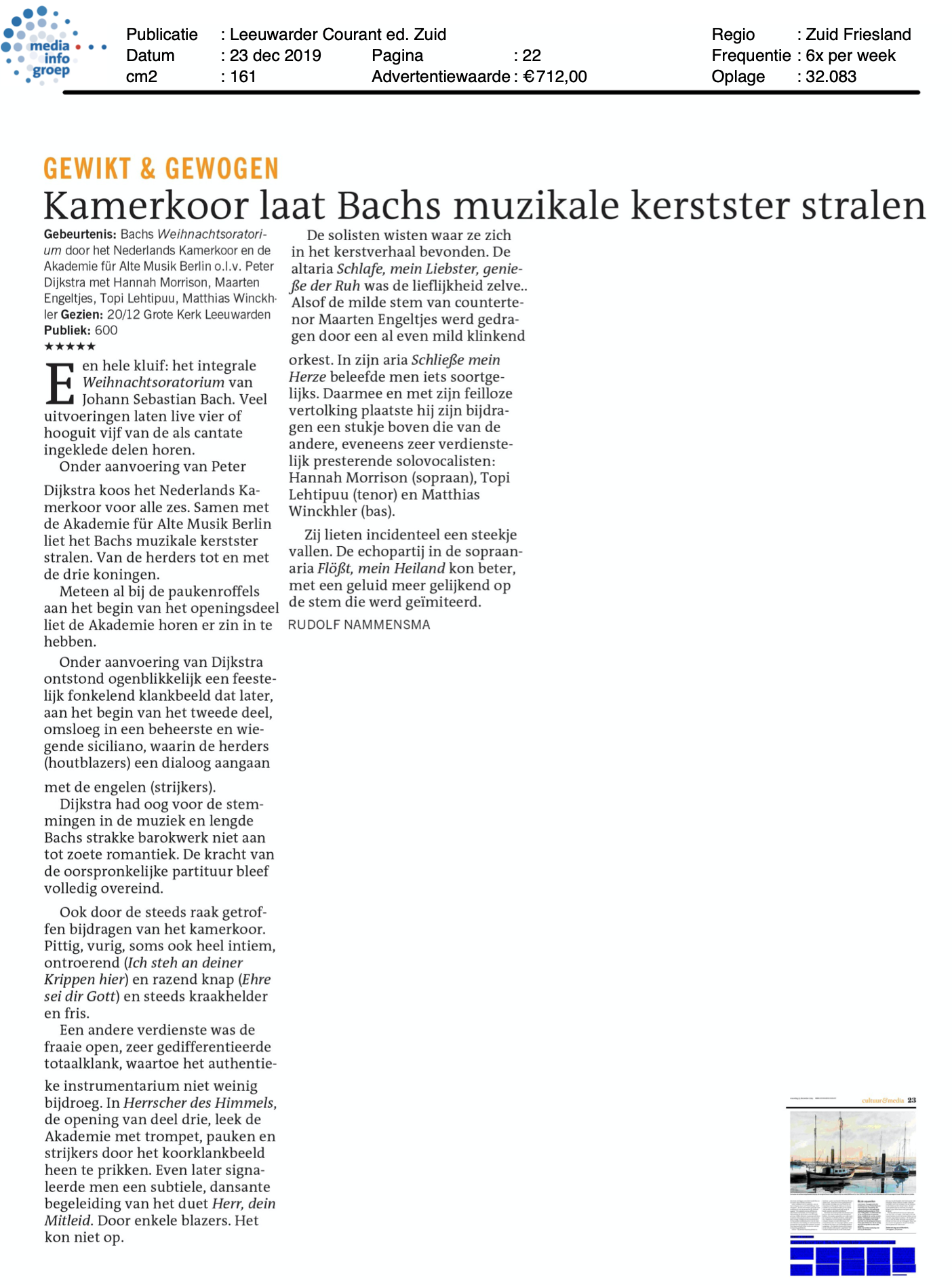 2019-12-23 Leeuwarder Courant : NKK