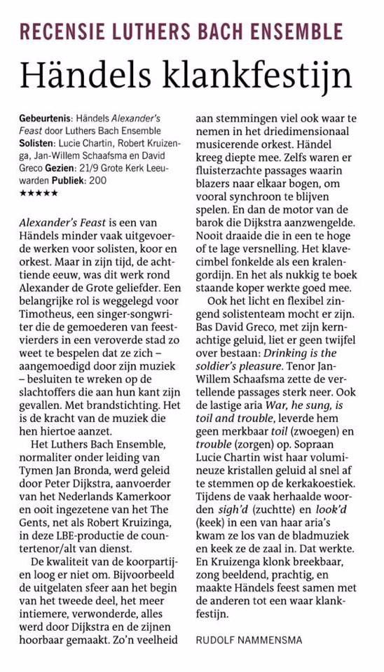 2018-09-21 - Dagblad vh Noorden -LBE