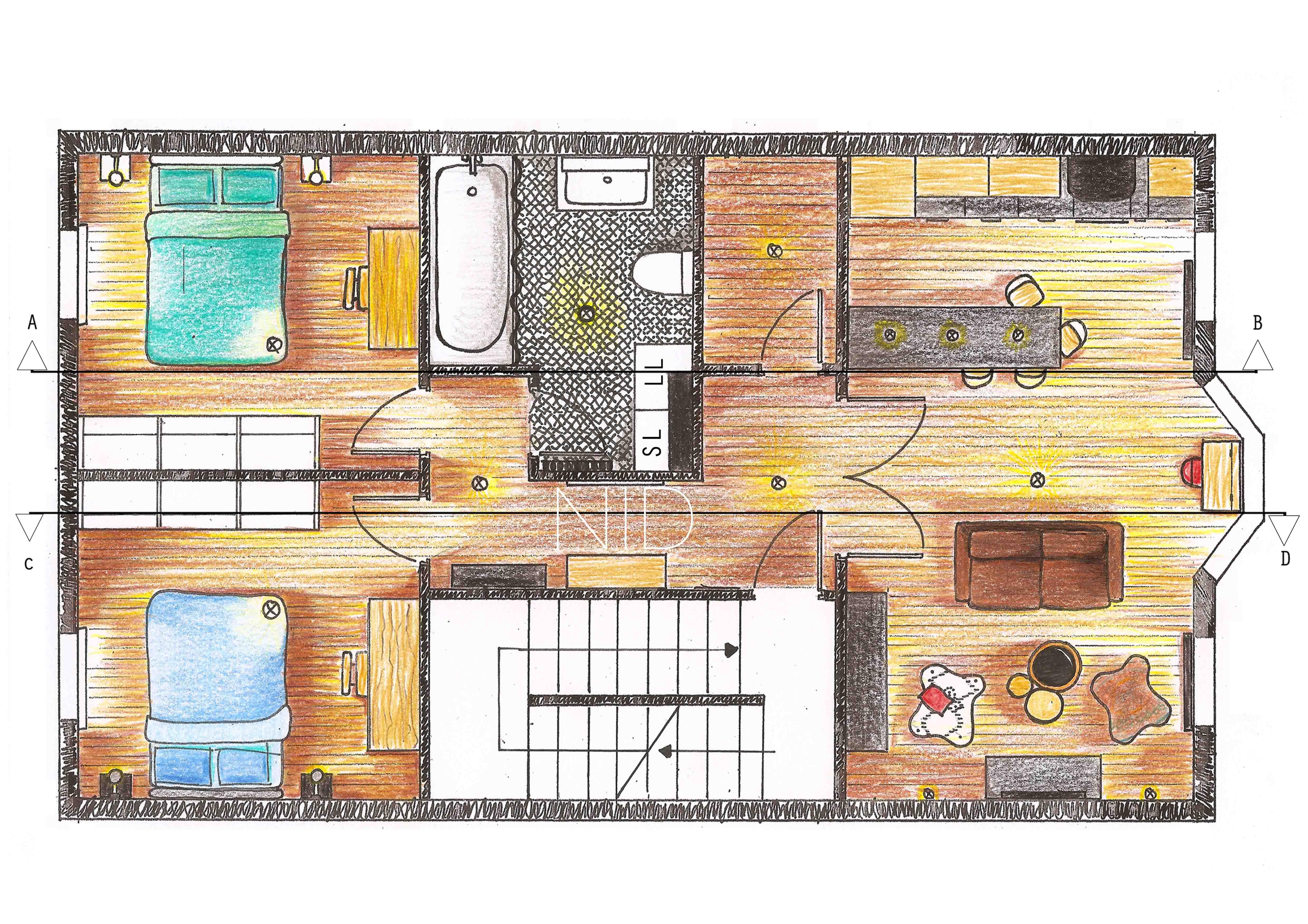 Plan style industriel