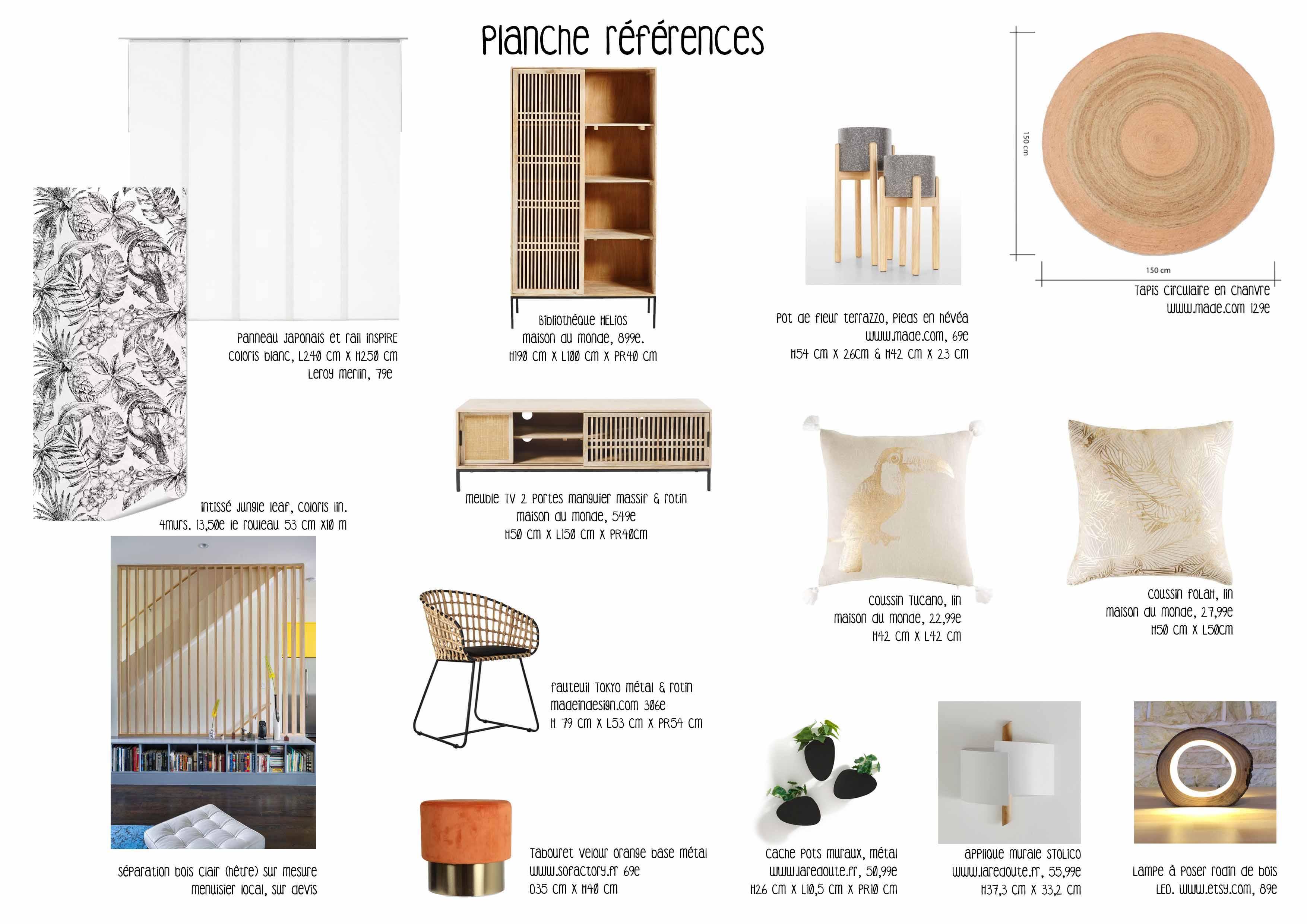 Liste d'achats Nature & motif