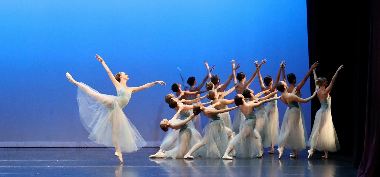 """""""Serenade"""" Choreography by George Balanchine (c) The George Balanchine Trust Performed with Permission, by LakeCities Ballet Theatre"""