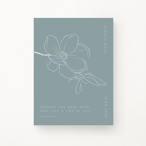 Inspired Prints | Personalised | Born for such a time