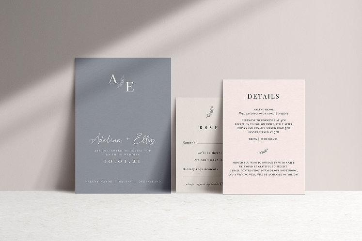 Adaline 3 Card Package