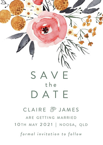 Claire Save the Date