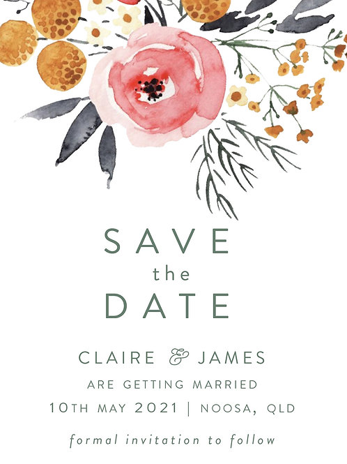 Save the Date | Claire