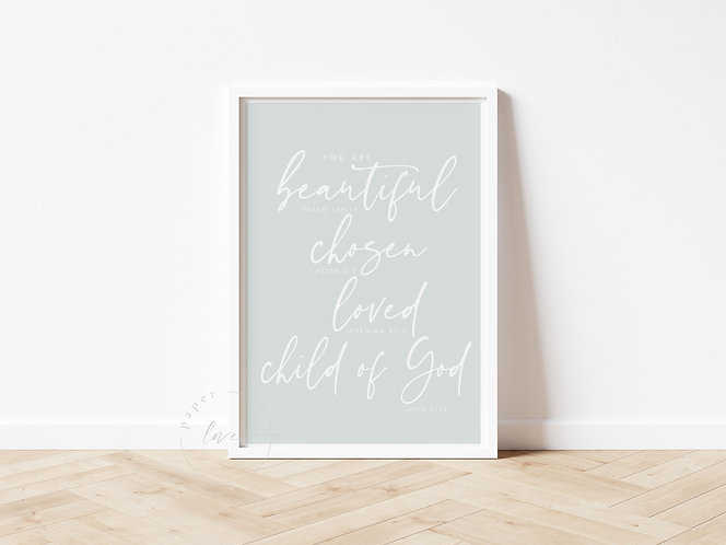 Inspired Prints | You Are