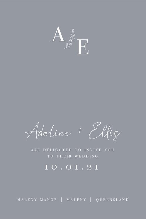 Wedding Invitation | Adaline