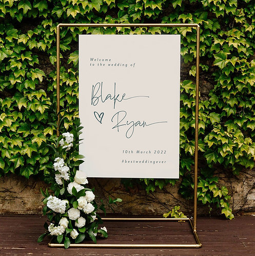 Blake Welcome Sign