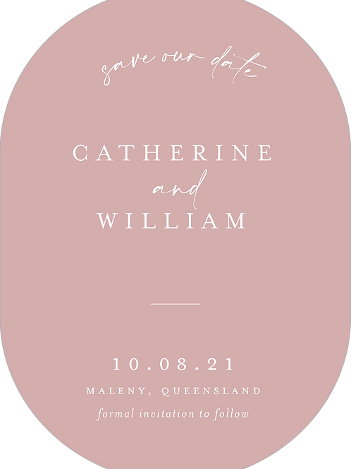 Save the Date | Catherine