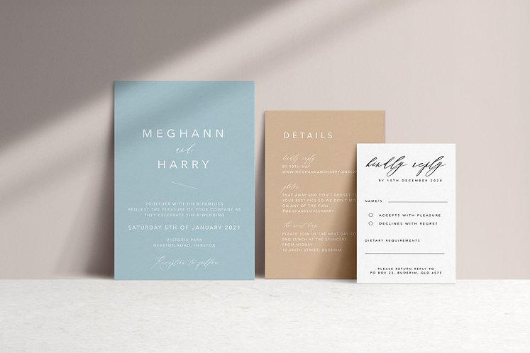 Meghann 3 Card Package