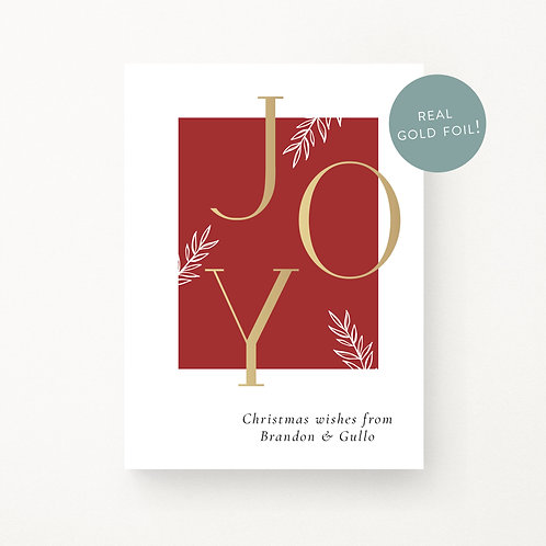 Christmas Cards | Joy