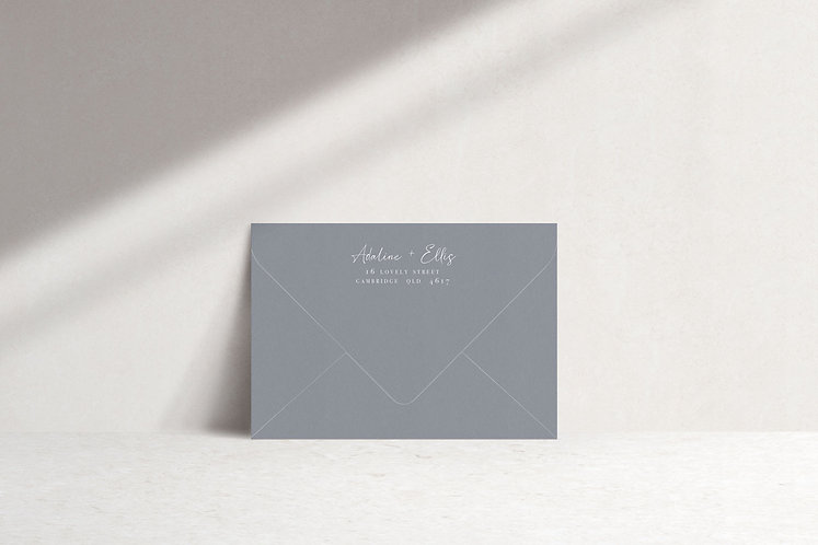 Adaline Printed Envelope