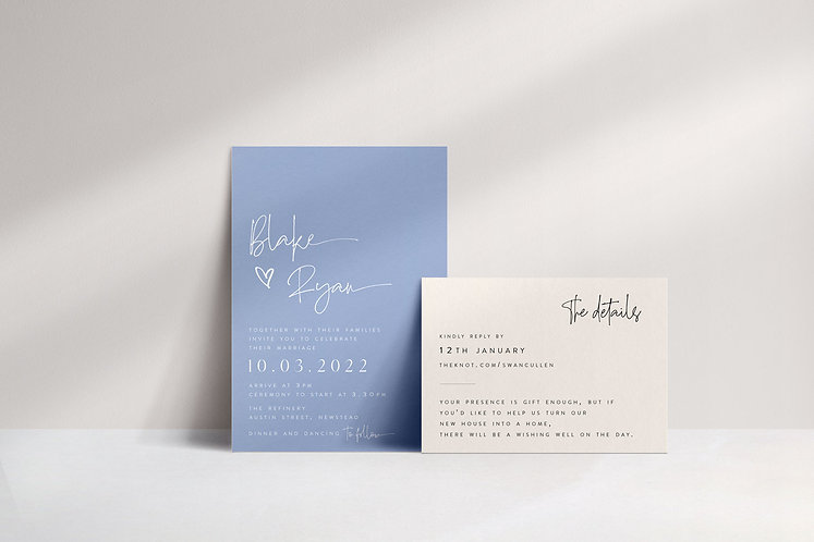 Blake 2 Card Package