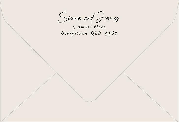 Sienna Printed Envelope