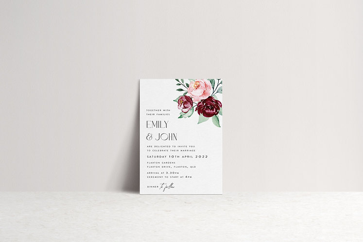 Emily Invitation