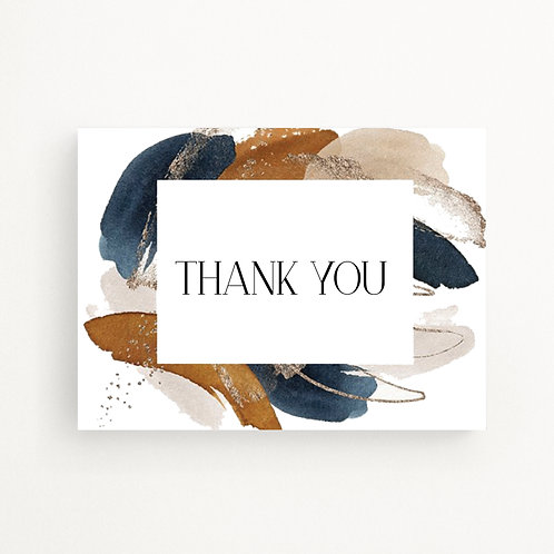 Greeting Cards | Abstract Thank You