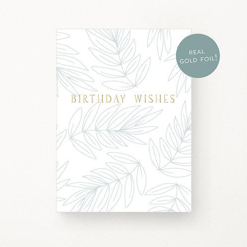 Greeting Cards | Leafy Happy Birthday