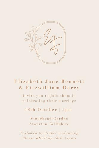 Elizabeth Invitation