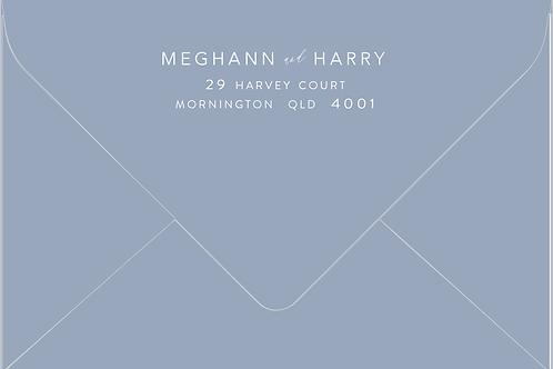 Printed Envelope   Meghann