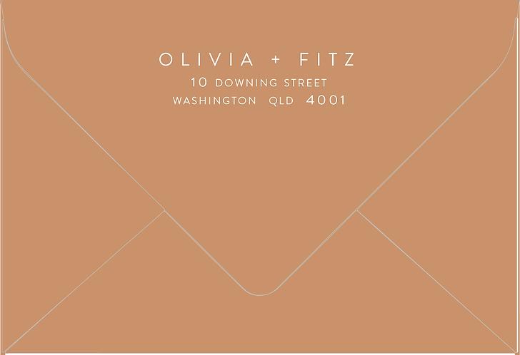 Olivia Printed Envelope
