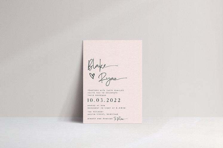 Blake Invitation