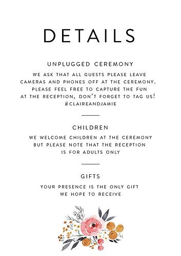 Claire Details Card