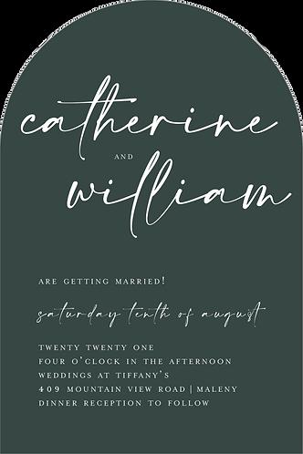 Catherine Invitation