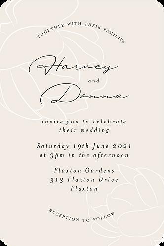 Jasmine Invitation