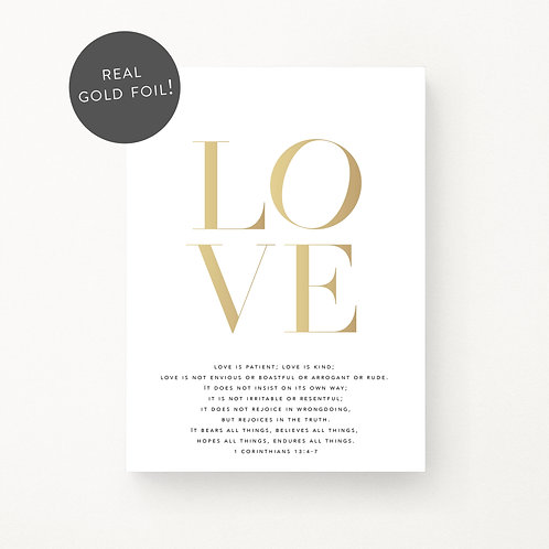 Inspired Prints | Love Is