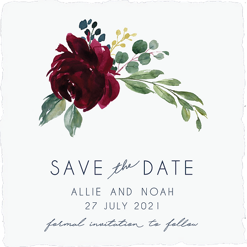 Save the Date | Allie