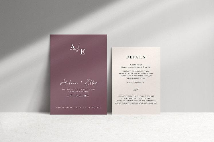 Adaline 2 Card Package