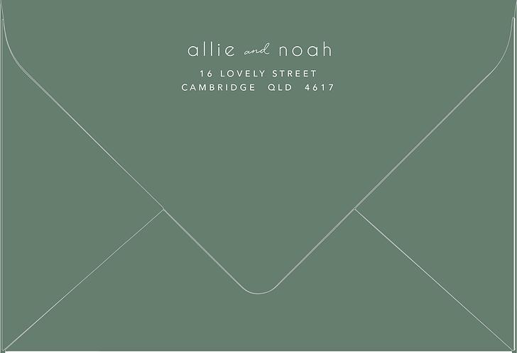 Allie Printed Envelope
