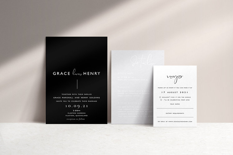 Grace 3 Card Package