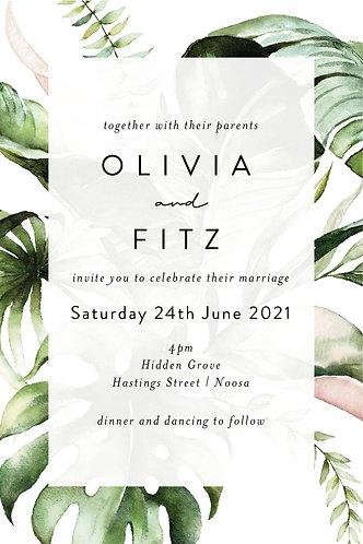 Olivia Invitation