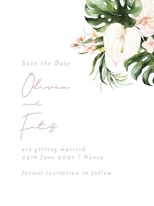 Save the Date | Olivia