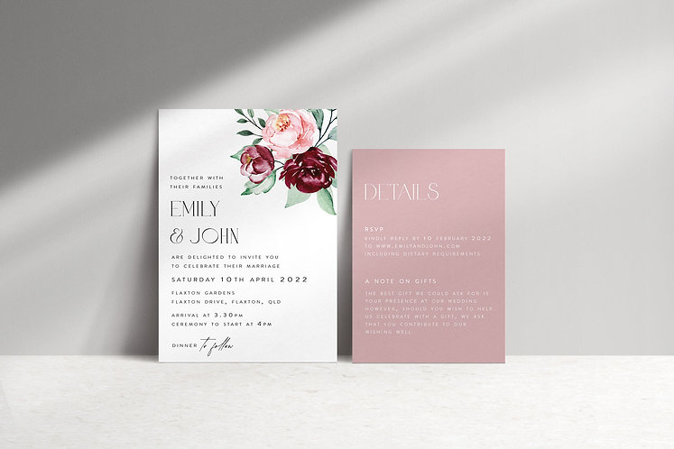 Emily 2 Card Package
