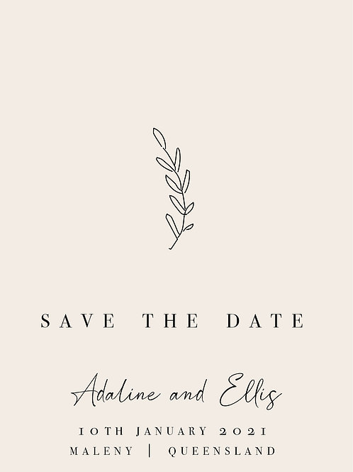 Save the Date | Adaline