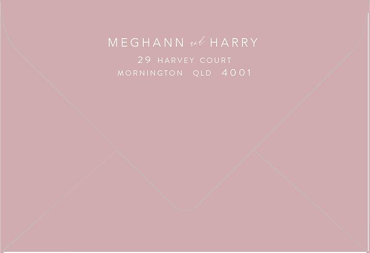 Meghann Printed Envelope
