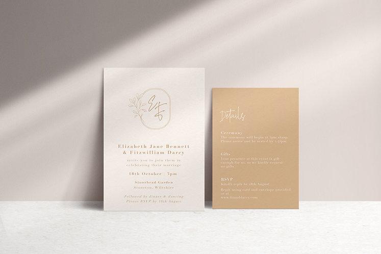 Elizabeth 2 Card Package